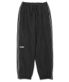 엘엠씨(lmc) LMC ZIPPER LEF TRACK SUIT PANTS black