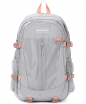 네이키드니스() COMPLETE BACKPACK / GRAY PINK
