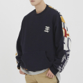 로맨틱크라운(ROMANTIC CROWN) E.D.V Half Jacquard Crewneck_Navy