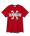 BOW WOW BONES TEE / RED