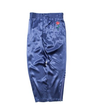 블랙 위어도스(blackweirdos) SATIN PANTS / BLUE