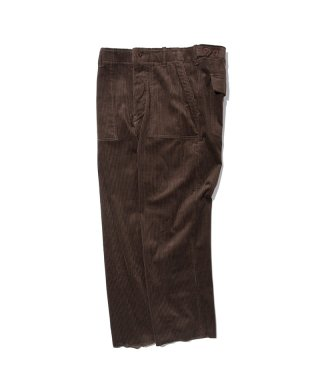 블랙 위어도스(blackweirdos) CORDUROY FATIGUE PANTS / BROWN