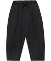 M#1700 daily banding wide pants (black)