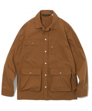 유니폼브릿지(uniformbridge) 19ss traveler shirts jacket brick