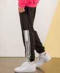 써치410(SEARCH410) HALF LINE JOGGER PT_BLACK