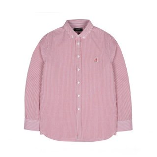 캉골(kangol) Basic Stripe Shirt 7032 RED