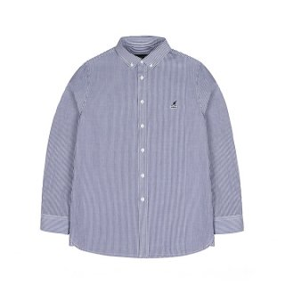 캉골(kangol) Basic Stripe Shirt 7032 NAVY