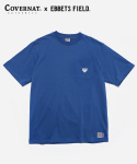 COVERNAT x EFF S/S NYC TEE BLUE