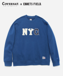 COVERNAT x EFF NYC CREWNECK BLUE