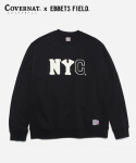 COVERNAT x EFF NYC CREWNECK BLACK