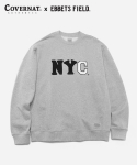 COVERNAT x EFF NYC CREWNECK GRAY