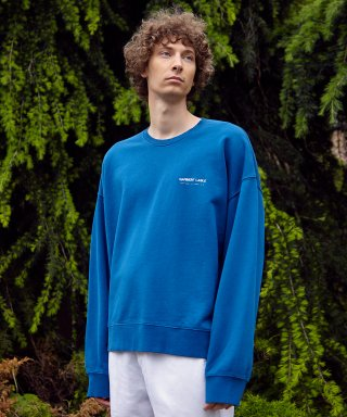 가먼트레이블(garmentlable) Relaxed Sweatshirts - Blue