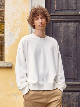 가먼트레이블(garmentlable) Relaxed Sweatshirts - Cream