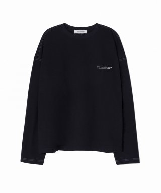 피스워커(pieceworker) Contrast M to M - Dark Navy
