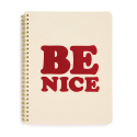 밴도(BAN.DO) ROUGH DRAFT MINI NOTEBOOK-be nice