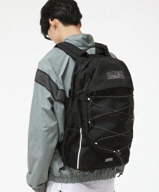 써드위브(thirdweave) EXPLORE BACKPACK / BLACK-SCOTCH