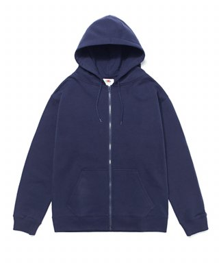 프룻오브더룸(fruitoftheloom) WAPPEN HOOD ZIP-UP NAVY
