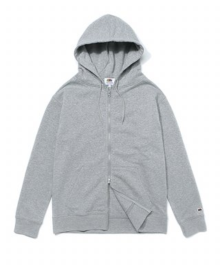 프룻오브더룸(fruitoftheloom) WAPPEN HOOD ZIP-UP GRAY