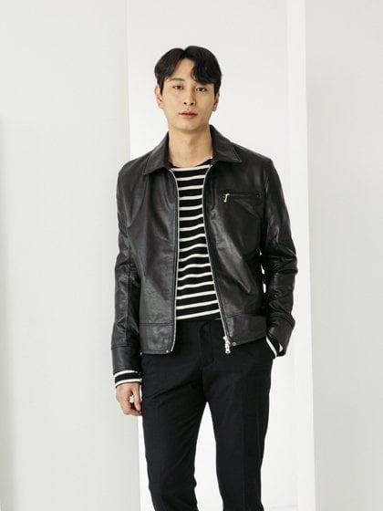스페로네(SPERONE) HORSE SKIN SINGLE RIDERS JACKET [BLACK]