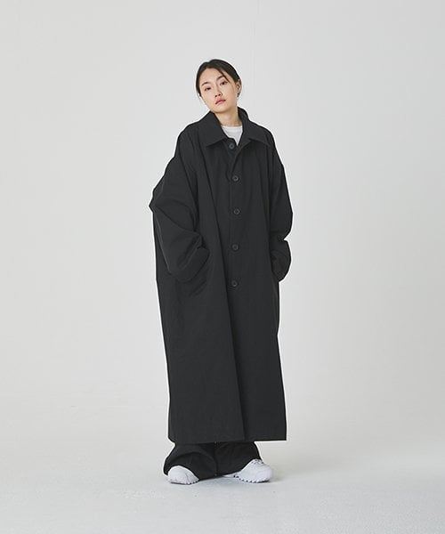 아무 코리아(AMU KOREA) UNISEX AMU OVER FIT LONG COAT