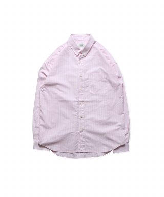 브루먼(bruman) Oxford BD Stripe Shirts (Pink)