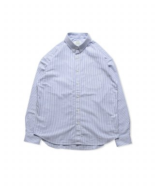 브루먼(bruman) Oxford BD Stripe Shirts (Blue)