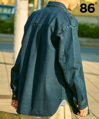 86로드(86road) SEMI OVER DENIM SHIRTS(2 COLORS)