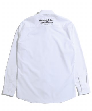 어반스터프(urbanstoff) USF Slogan Embroidered Shirts White