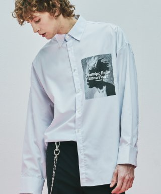 어반스터프(urbanstoff) USF Artwork Oversized Shirts White
