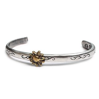 윌리앤더피(willieandduffy) Sun Nature Patterned Bangle