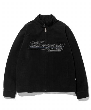 엘엠씨(lmc) LMC CANVAS HARRINGTON JACKET black