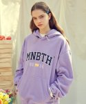 MNBTH Fleece Hood T-shirt(LILAC)