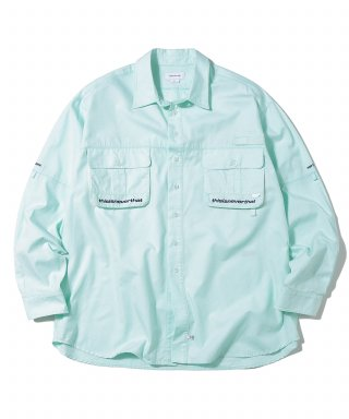 디스이즈네버댓(thisisneverthat) Sports Fishing Shirt Mint