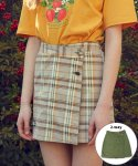 메인부스() 9S Reversible Skirt(BEIGE CHECK)