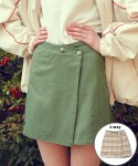 메인부스() 9S Reversible Skirt(KHAKI)