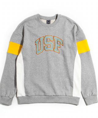 어반스터프(urbanstoff) USF 3P Embroidered Sweatshirts Gray