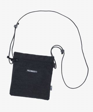 피스메이커(piecemaker) NYLON SACOCHE BAG (BLACK)
