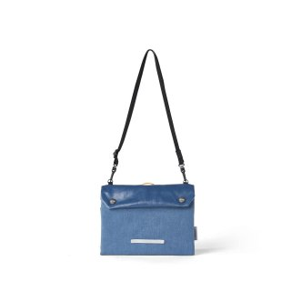 로우로우(rawrow) PARK PACK UTILITY BAG 740 CANVAS INDIGO BLUE