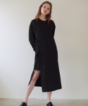 앳퍼스트사이트(AT FIRST SIGHT) POCKET POINT WRAP SHIRTS DRESS_BK