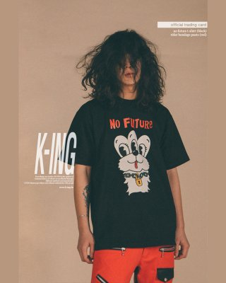 킹(king) NO FUTURE T-Shirt (Black)