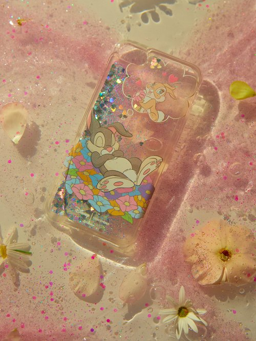 하이칙스(HIGH CHEEKS) Dreaming Thumper Glitter Case