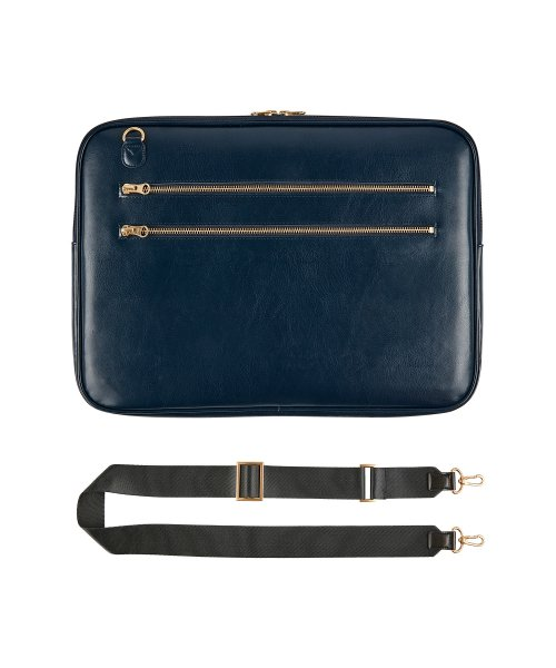 테이블토크(TABLETALK) SLIM·WIDE NOTEBOOK BAG 15_Navy