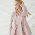 밀로그램() Mocco Single Blazer - Pink