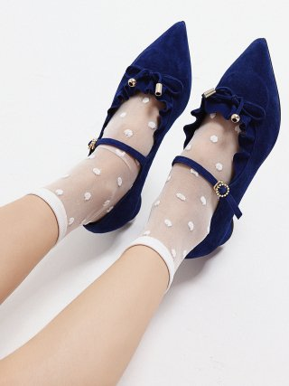 레이브업(raveup) Its Adorable Mary Jane Suede Blue_0051