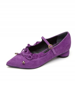 레이브업(raveup) Its Adorable Mary Jane Suede Mid Purple_0051