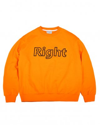 라잇루트(rightroute) RR SWEATSHIRT ORANGE[표예나]
