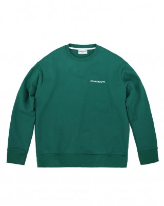 라잇루트(rightroute) ACTION PLEATS SWEATSHIRT GREEN