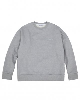 라잇루트(rightroute) ACTION PLEATS SWEATSHIRT GRAY