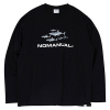 SHARK TM LONG SLEEVE TEE - BLACK