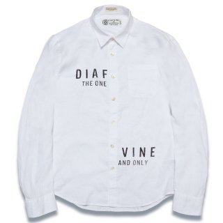 디아프바인(diafvine) DV. LOT571 LINEN SHIRTS -WHITE-